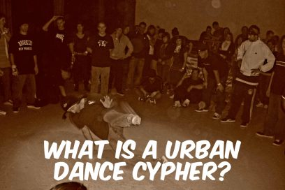 What is a Urban Dance Cypher?