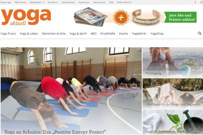 """Yoga aktuell"" Interview Juni 2019"